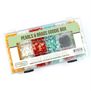 Picture of Pearls & Brads Embellishment Kit